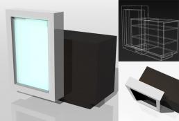 design arredi professionali rendering