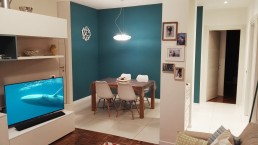 colore blu petrolio per pareti nuovo progetto
